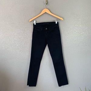 J Brand ladies pencil split leg jeans 24